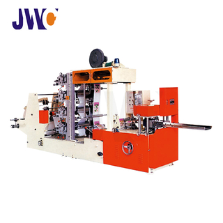 JWC-YH-FC Table Napkin Making Machine Four Colors