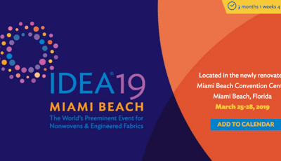 Miami, United States, 2019 Non-woven fabric international exhibition IDEA19 …