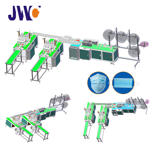 Automatic disposable mask making machine
