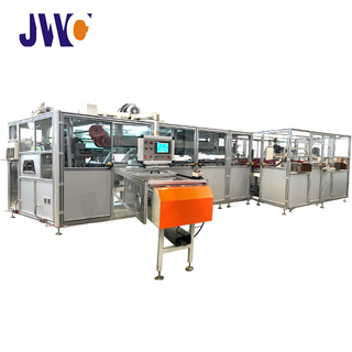 full automatic diaper auto bagger machine